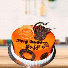 Butterscotch_Decorative_Cake