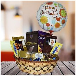 Chocolates _with _Birthday_ Balloon