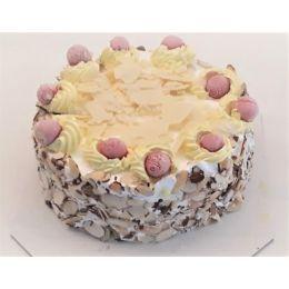 Butterscotch_Almond_Ice cream cake