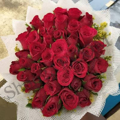 Pretty_Red Roses_Bunch
